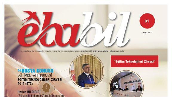 Ebabil Dergisi ilk sayısını Eğitim Teknolojileri Zirvesi ne ayırdı