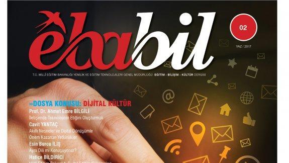 Ebabil dergisi yeni sayısında Dijital Kültür ü ele aldı