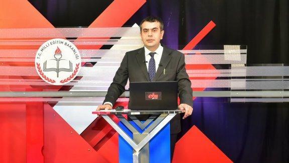 MEB Müsteşarı TEKİN EBA da canlı yayında öğretmenlerin mesleki çalışma