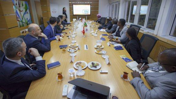 Zambiya Cumhuriyeti Eğitim Bakanlığından Yenilik ve Eğitim Teknolojileri Genel Müdürlüğüne ziyaret