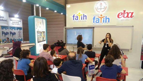 Eğitimde FATİH Projesi ve EBA 23. İzmir Kitap Fuarı'nda tanıtılıyor