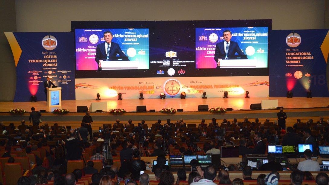 4 Uluslararası FATİH Projesi Eğitim Teknolojileri Zirvesi 2018 Ankara da